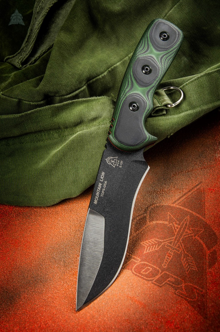 TOPS MTLN01 Mountain Lion w/Nylon Sheath (Online Only)