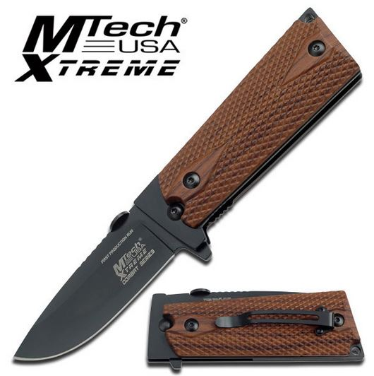 MTech Xtreme 754WD Finnish Folder Brown (Online Only)