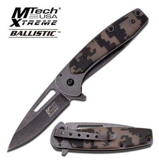 MTech Xtreme A824 Digital Camo G-10 Assisted Open (Online Only)