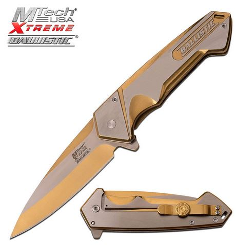 MTech Xtreme MXA852GD Ballistic Two-Tone Gold (Online Only)