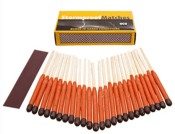 UCO Gear Stormproof Matches - 50 Pack