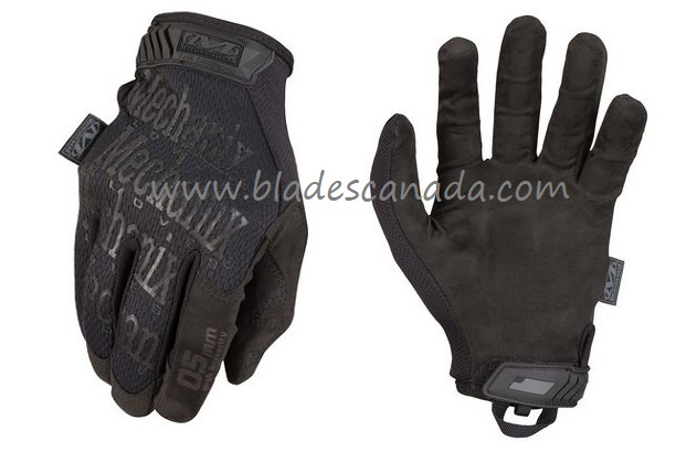 Mechanix Wear The Original 0.5mm Covert Tactical Gloves- Black