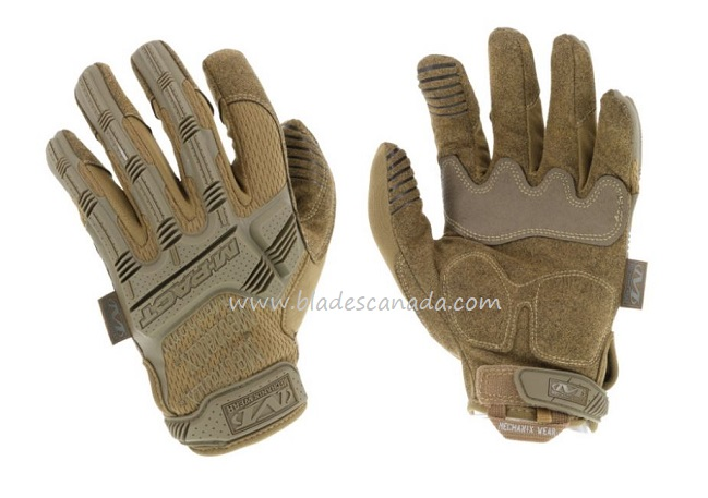 Mechanix Wear M-Pact Covert Impact Tactical Gloves - Coyote