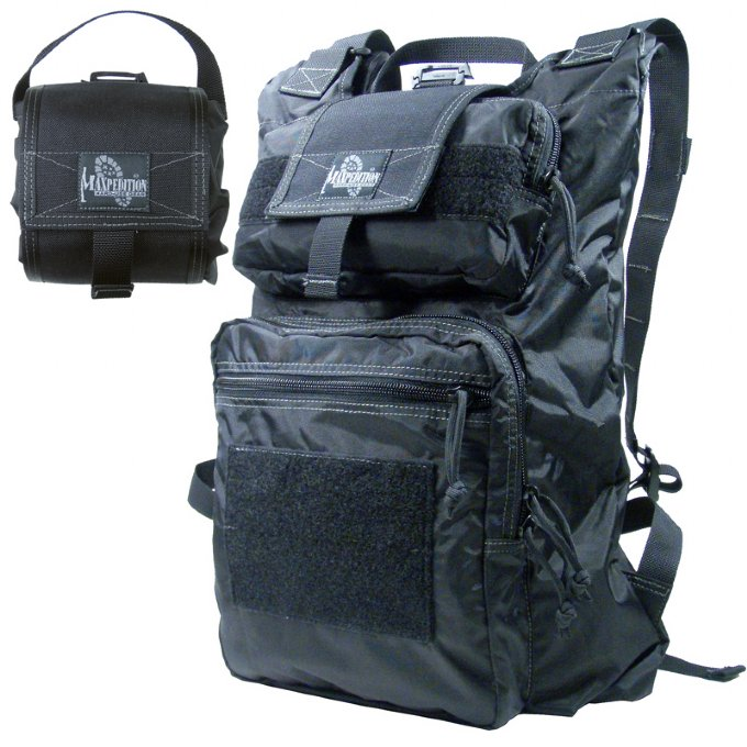 Maxpedition RollyPoly Extreme Backpack - Black