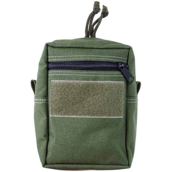 Maxpedition 7x5x2 Vertical Pouch Low Profile - OD Green