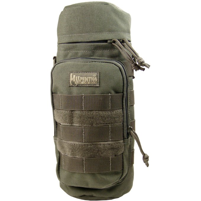 Maxpedition 12x5 Bottle Holder - Foliage Green
