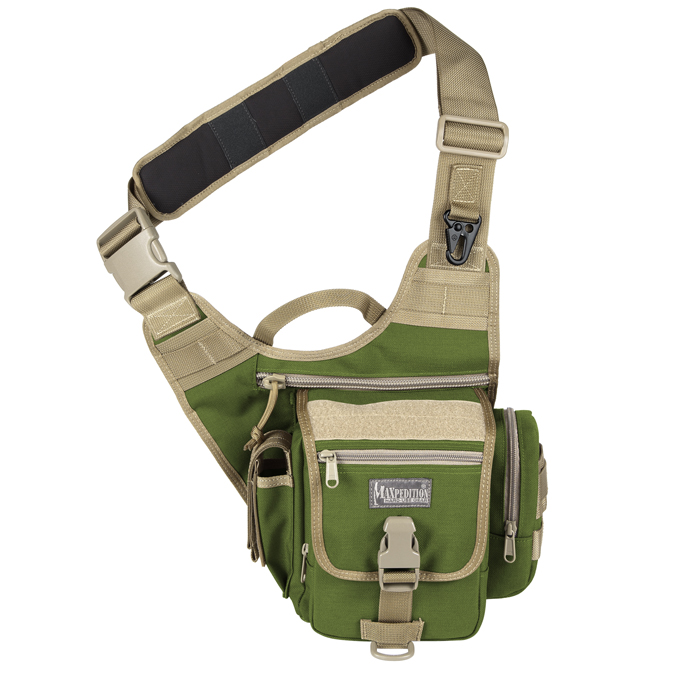 Maxpedition Fatboy S-Type Versipack - Green/Khaki