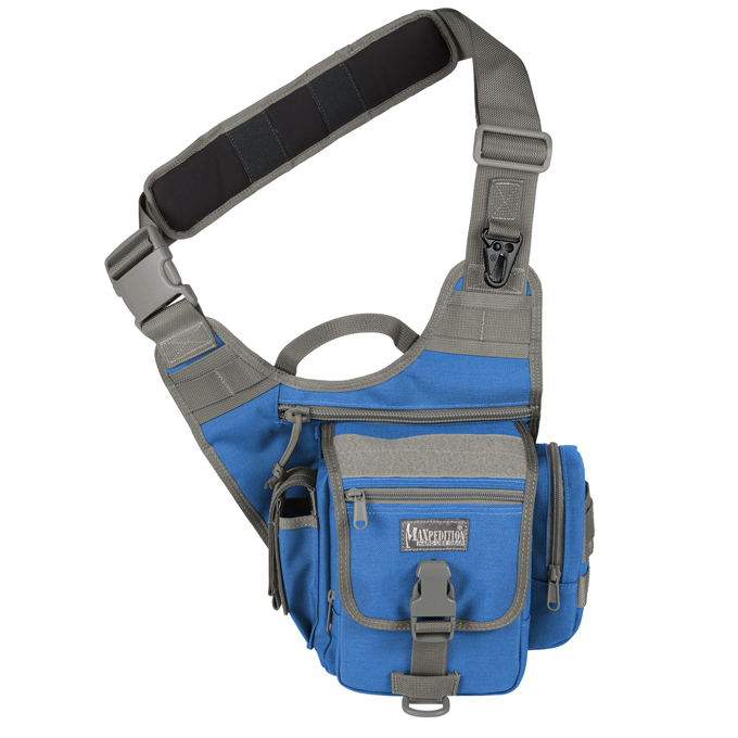 Maxpedition Fatboy S-Type Versipack - Royal Blue/Foliage