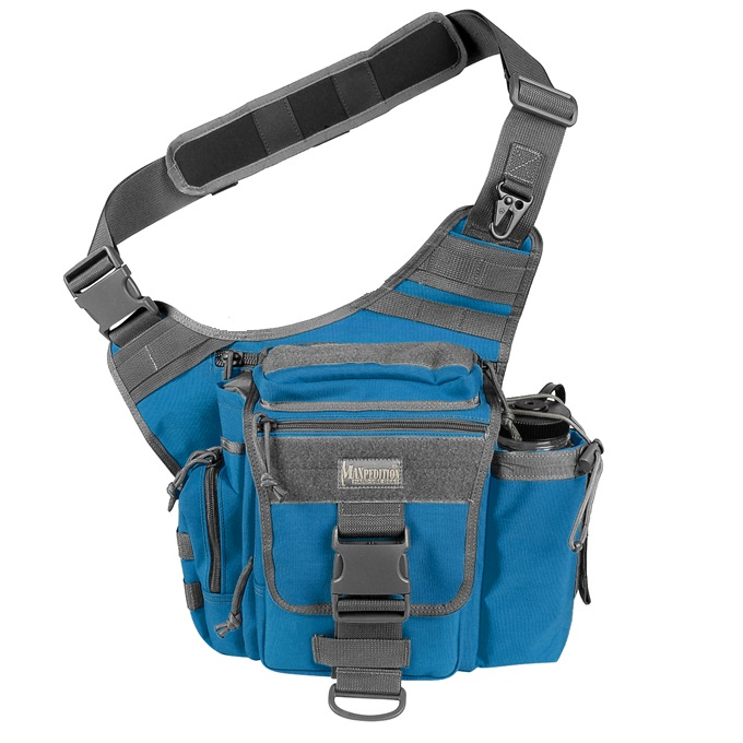 Maxpedition Jumbo S-Type Versipack - Royal Blue/Foliage