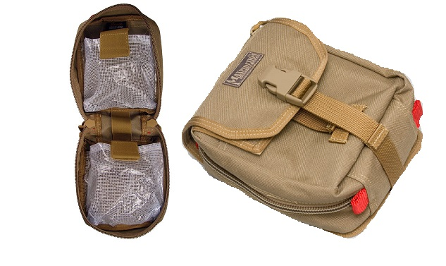Maxpedition F.I.G.H.T. Medical Pouch - Khaki