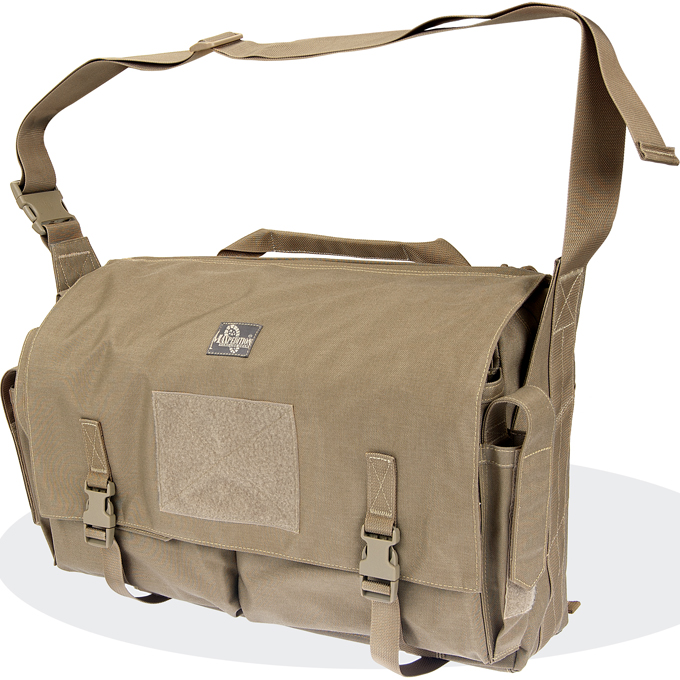 Maxpedition Gleneagle Messenger Bag (Large) - Khaki