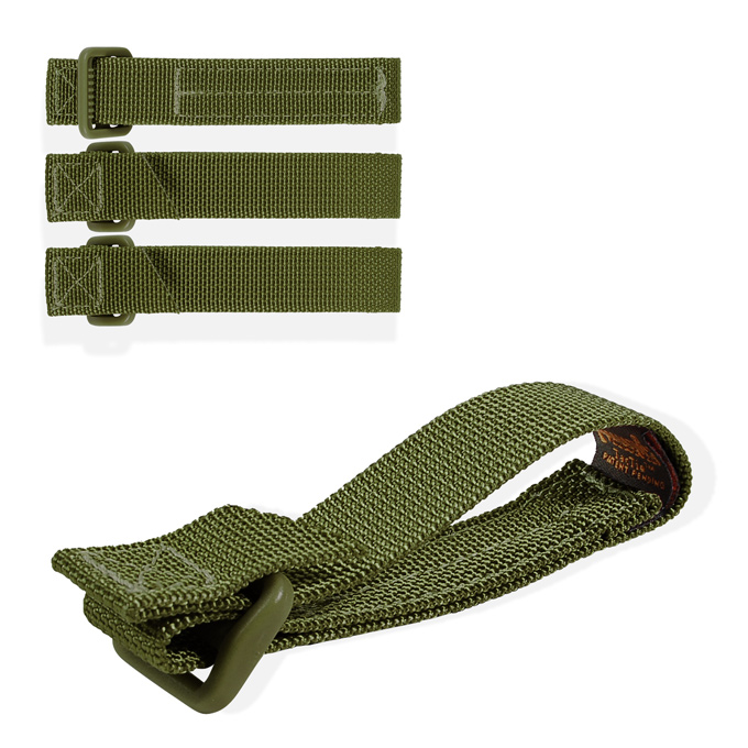 "Maxpedition 3"" TacTie (4 Pack) - OD Green"