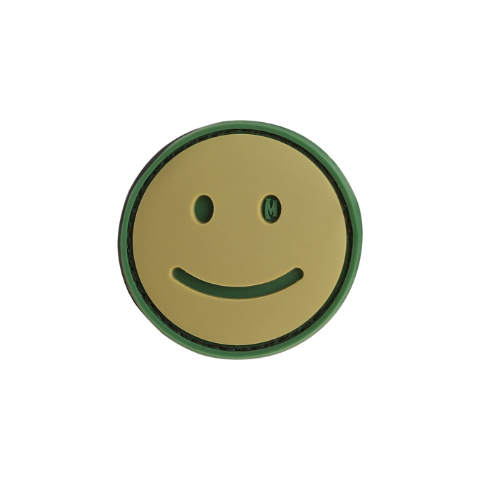 Maxpedition PVC Morale Patch - Happy Face Arid