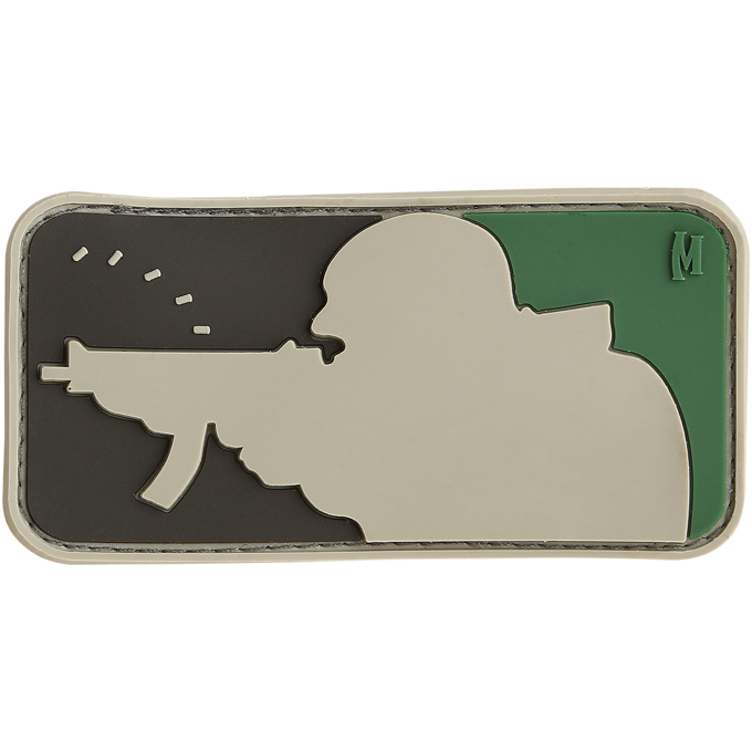 Maxpedition PVC Morale Patch - Major League Shooter Arid