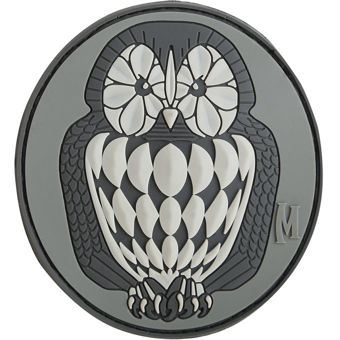 Maxpedition PVC Morale Patch - Owl Swat