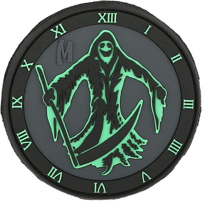 Maxpedition PVC Morale Patch - Reaper Glow