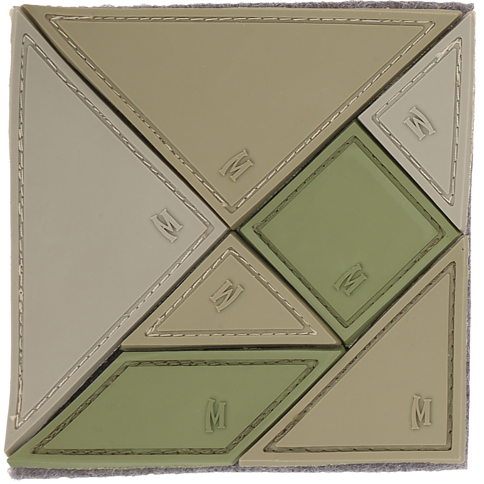 Maxpedition PVC Morale Patch - Tangram Arid