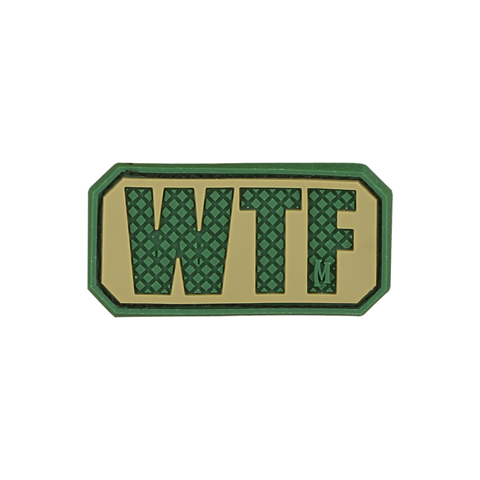 Maxpedition PVC Morale Patch - WTF Arid