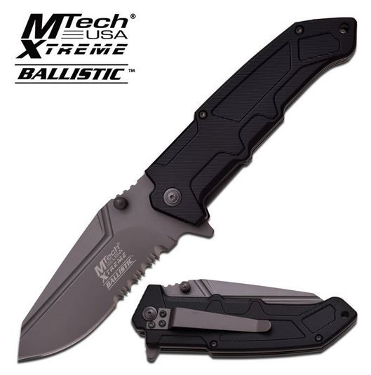 MTech Xtreme A835GYS Ballistic Ti-Grey Assisted (Online Only)
