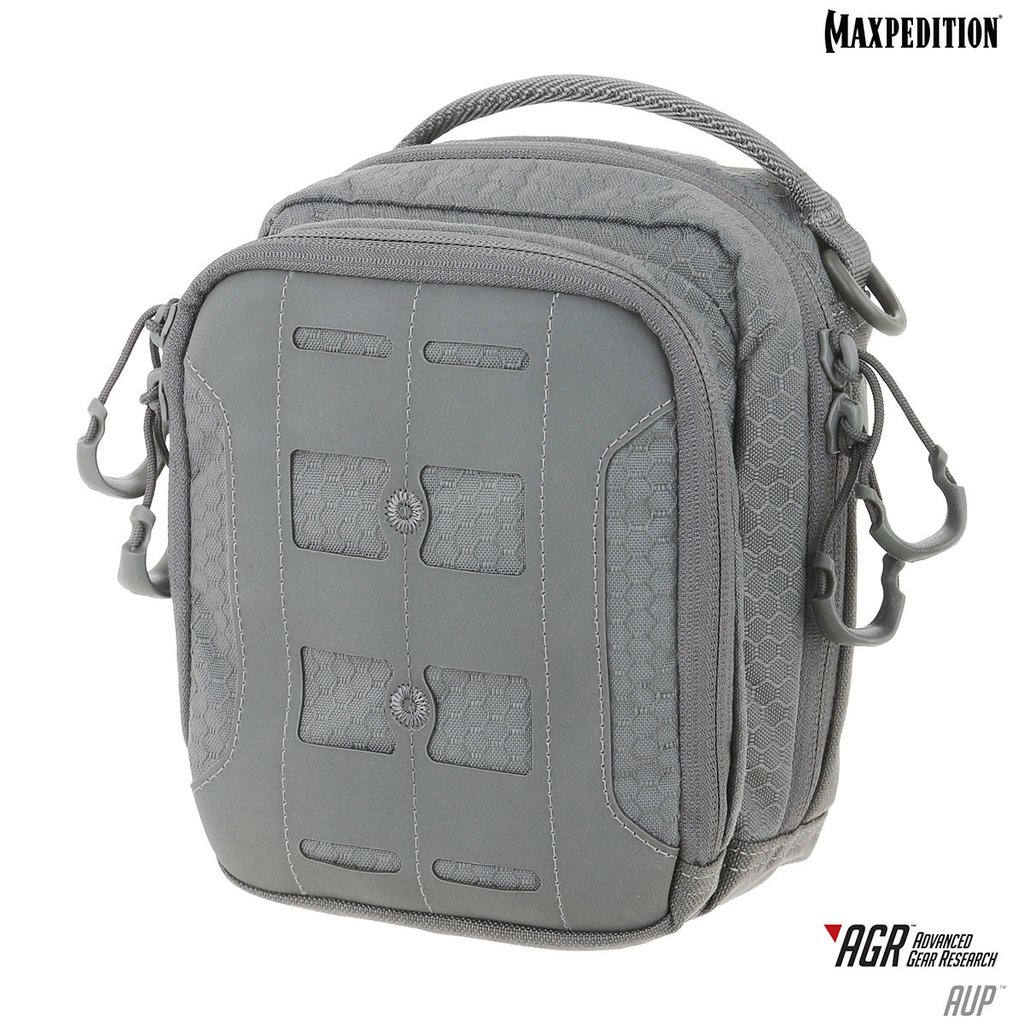 Maxpedition AUP Accordion Utility Pouch - Grey
