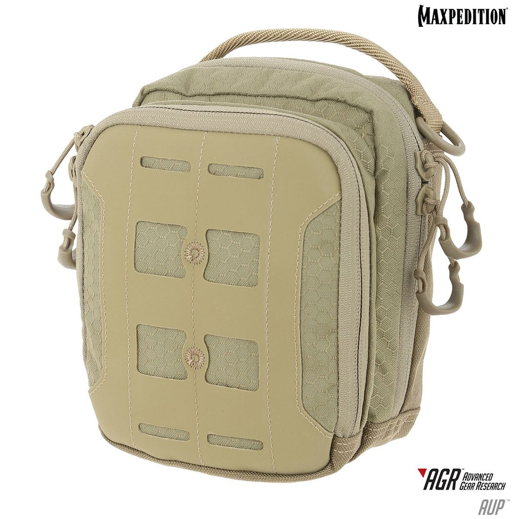 Maxpedition AUP Accordion Utility Pouch - Tan