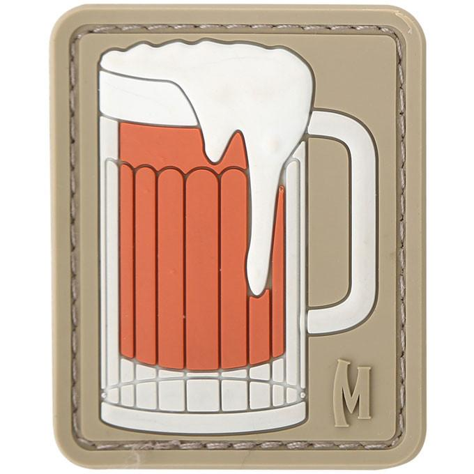 Maxpedition PVC Morale Patch - Beer Mug [Arid]