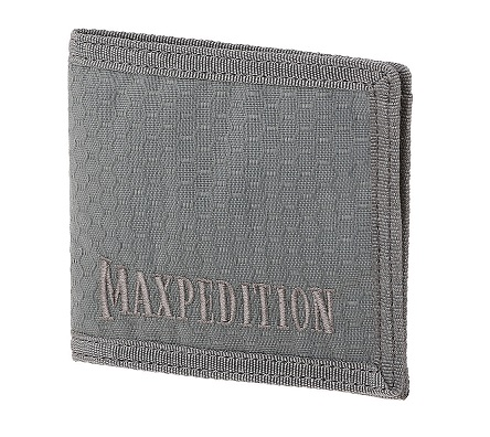 Maxpedition AGR Bi-Fold Wallet - Grey