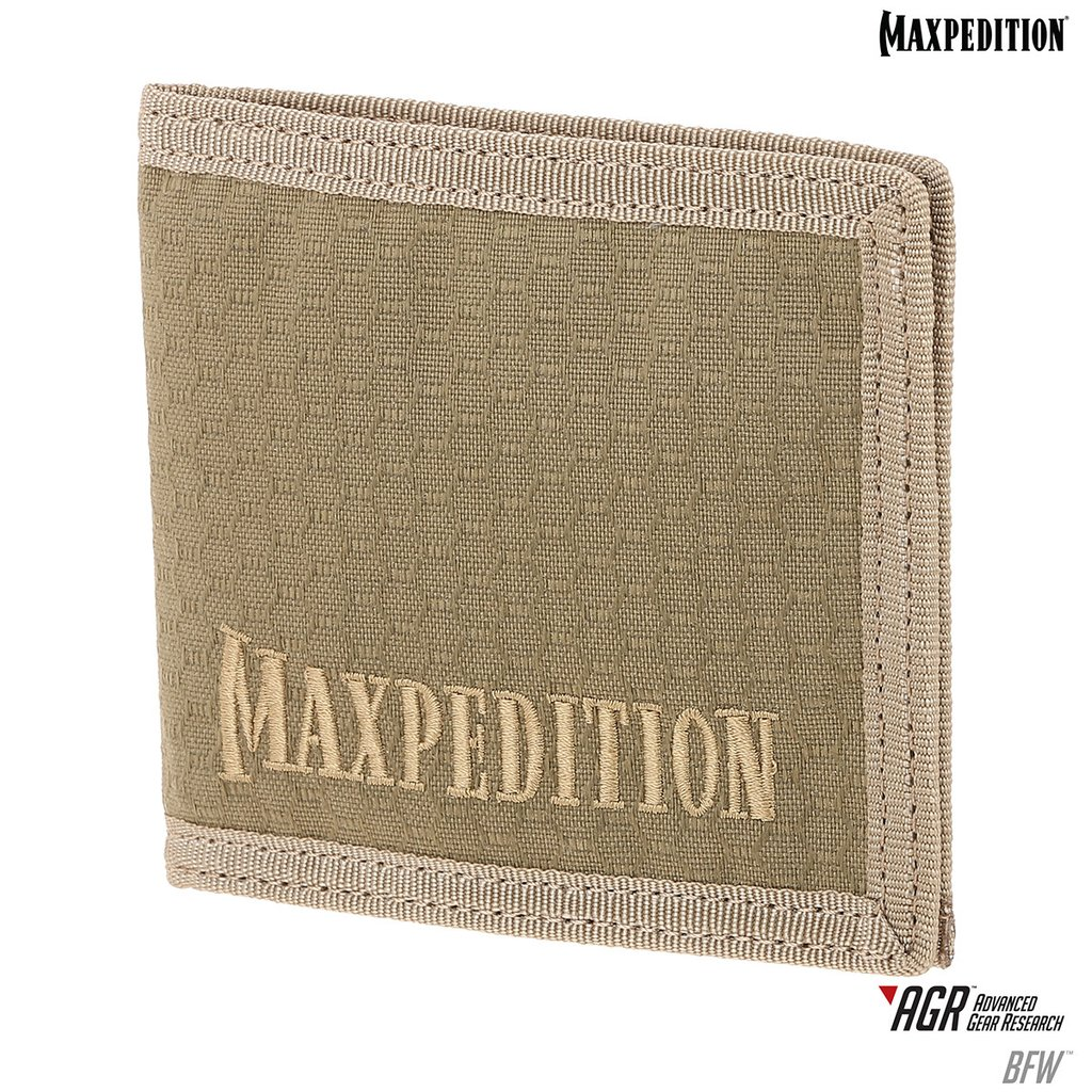 Maxpedition AGR Bi-Fold Wallet - Tan