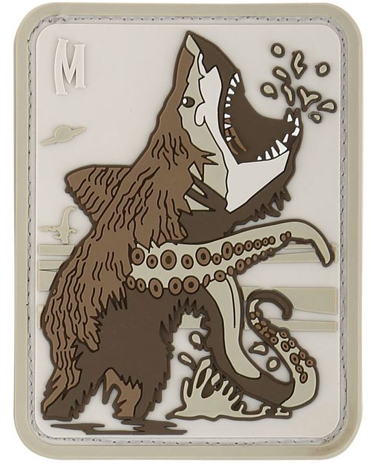 Maxpedition PVC Morale Patch - Bearsharktopus [Arid]