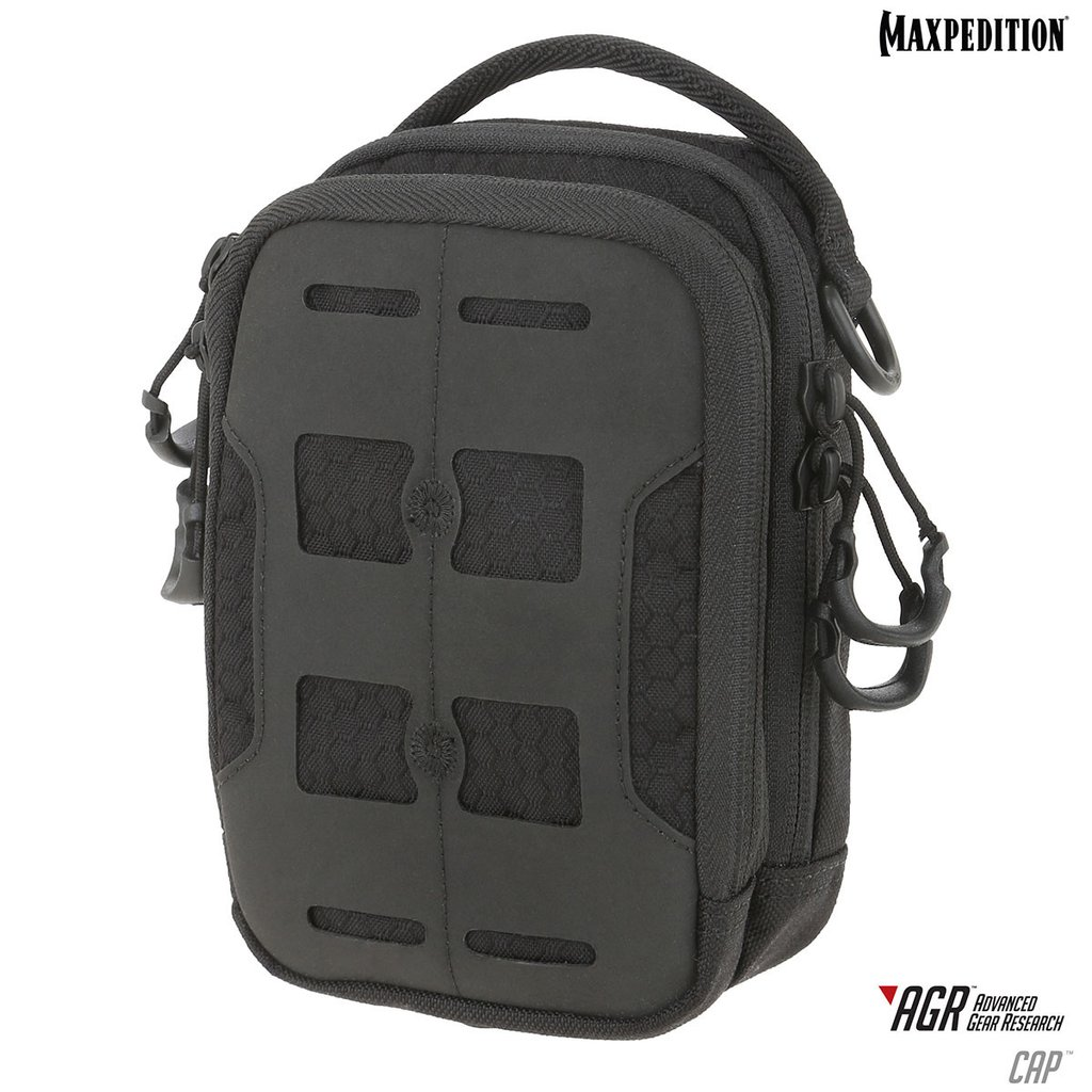 Maxpedition AGR CAP Compact Admin Pouch - Black