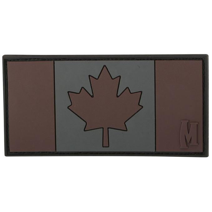 Maxpedition PVC Morale Patch - Canada Flag Stealth