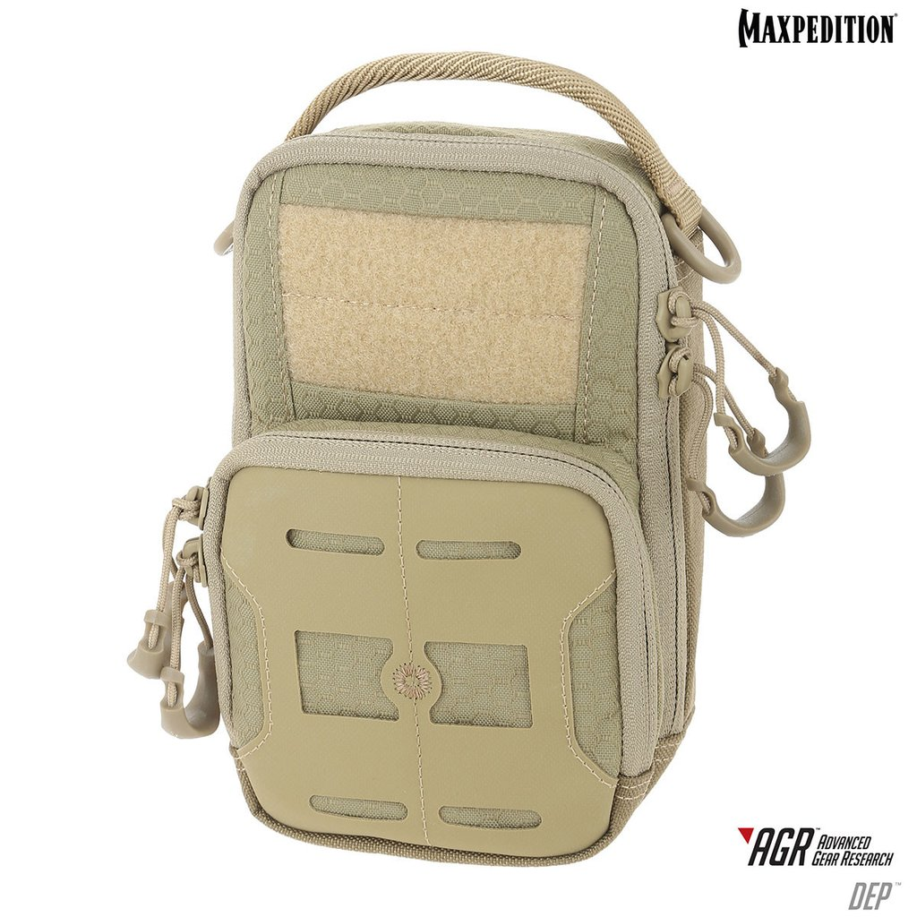 Maxpedition AGR DEP Daily Essentials Pouch - Tan