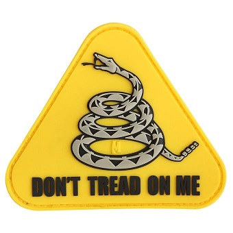 Maxpedition PVC Morale Patch - Don't Tread On Me - Full Colour
