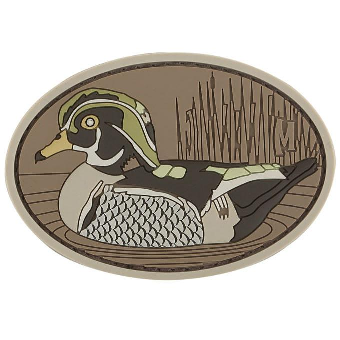 Maxpedition PVC Morale Patch - Wood Duck [Arid]