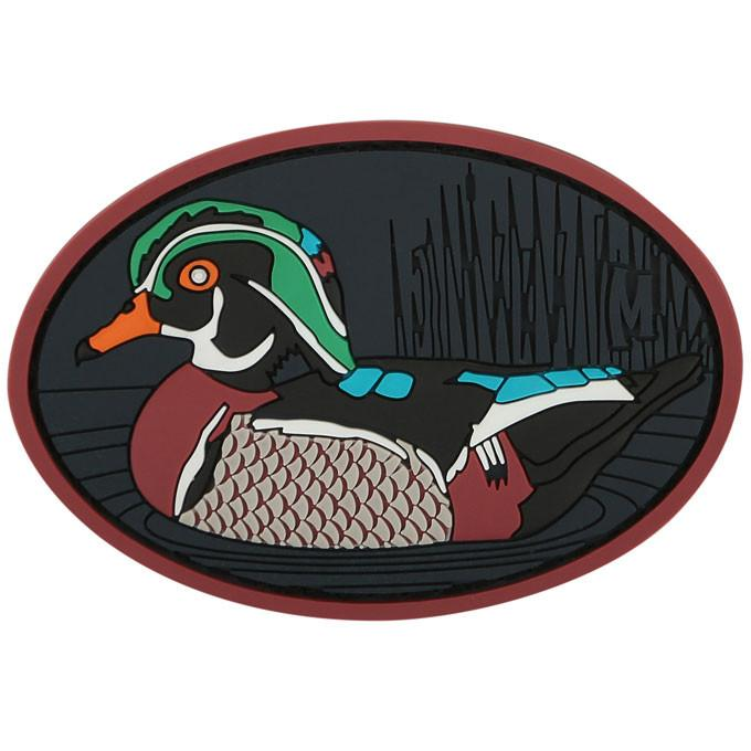 Maxpedition PVC Morale Patch - Wood Duck [Full Colour]
