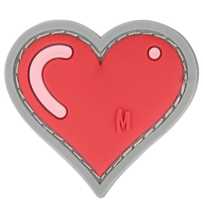 Maxpedition PVC Moral Patch - Heart [Full Colour]