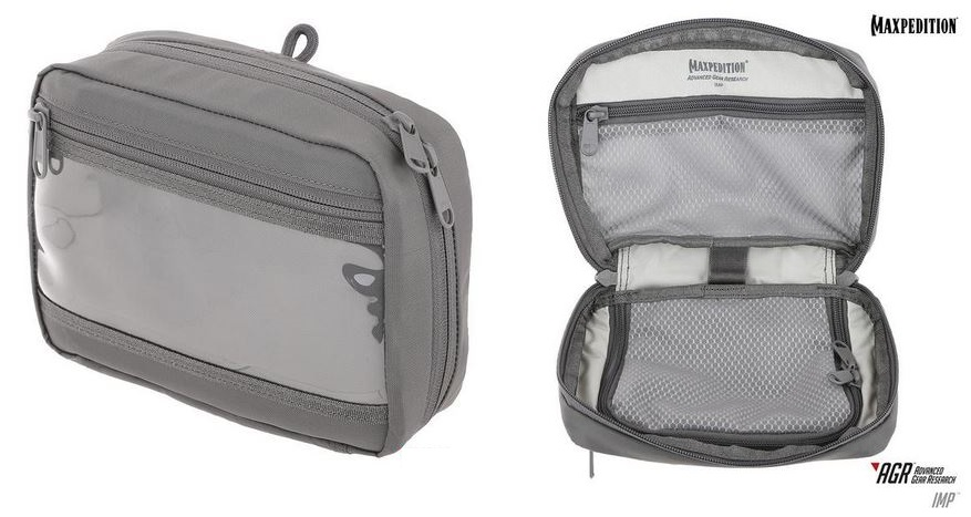 Maxpedition IMP Individual Medical Pouch - Gray