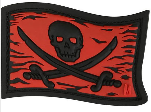 Maxpedition PVC Morale Patch - Jolly Roger Full Color