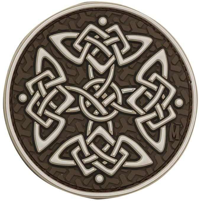 Maxpedition PVC Morale Patch - Celtic Cross [Arid]