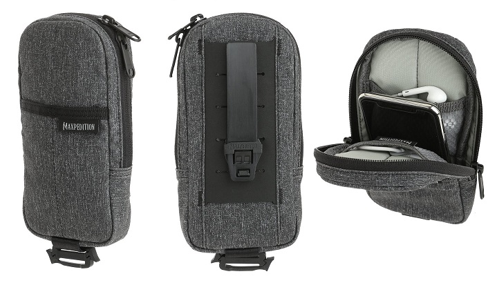 Maxpedition NTTZPP Entity Modular Pocket - Charcoal