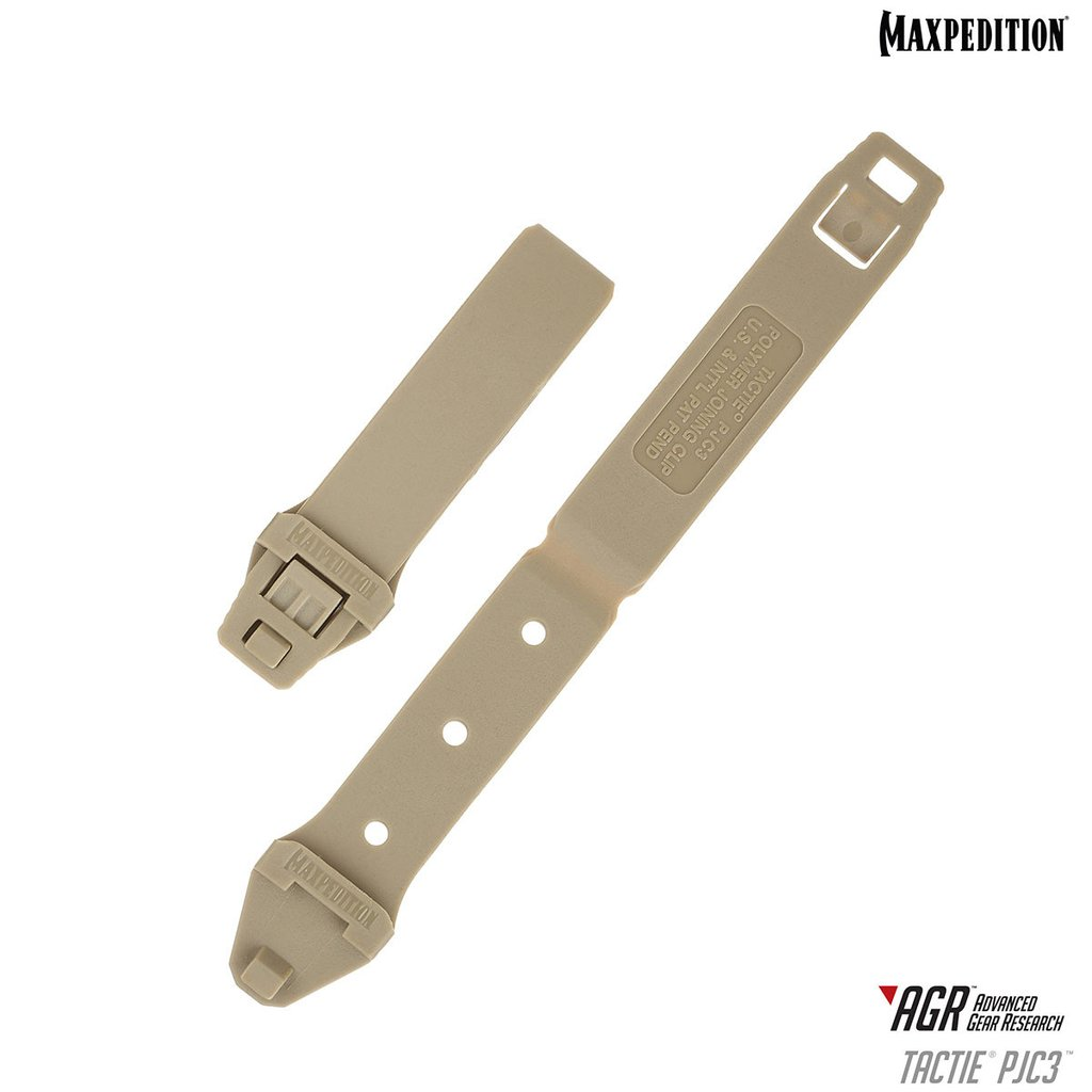 Maxpedition PJC3 Polymer Tactie Joining Clips Tan - Set of 6