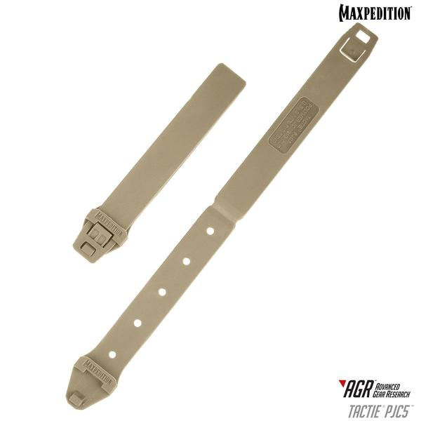 Maxpedition PJC5 Polymer Tactie Joining Clips Tan - Set of 6