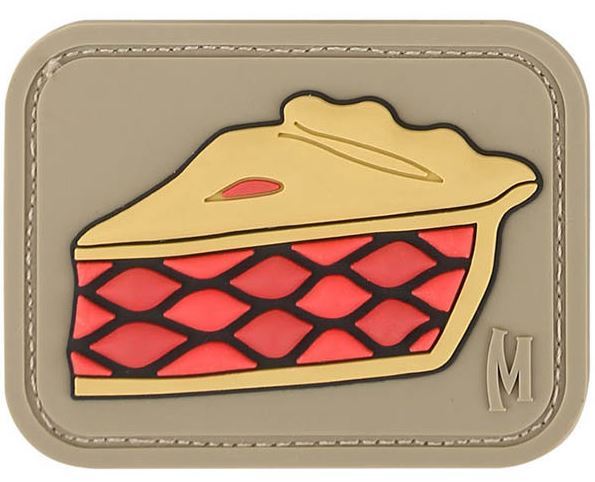 Maxpedition PVC Morale Patch - Pie [Arid]