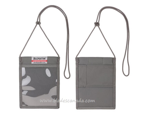 Maxpedition SBH Show Badge Holder - Grey