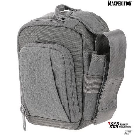 Maxpedition SOP Side Opening Pouch - Gray