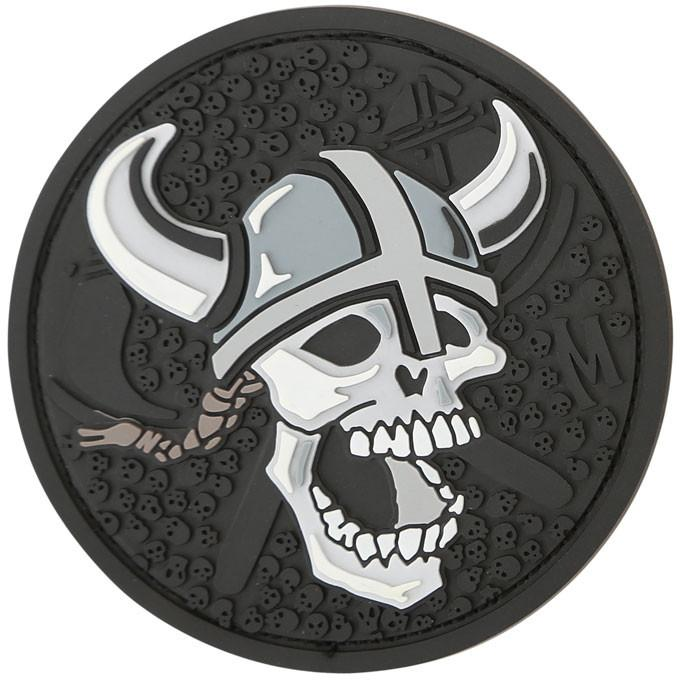 Maxpedition PVC Morale Patch - Viking Skull [Swat]