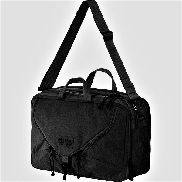 Mystery Ranch 3 Way Expandable Briefcase - Black