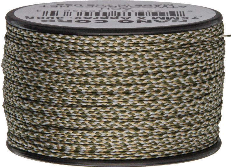 Nano Cord, 300 Ft. Spool - ACU Camo