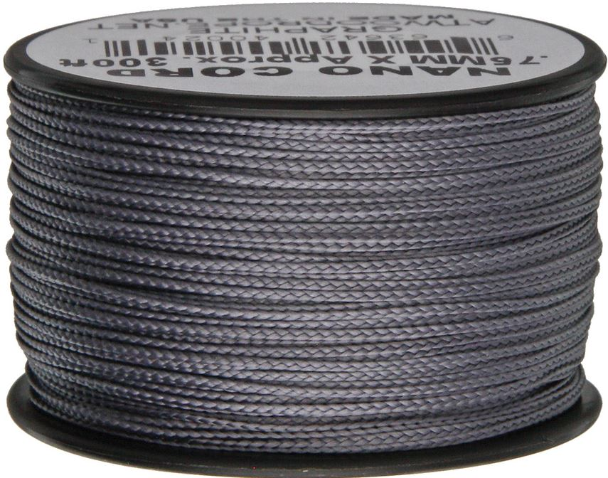 Nano Cord, 300 Ft. Spool - Graphite