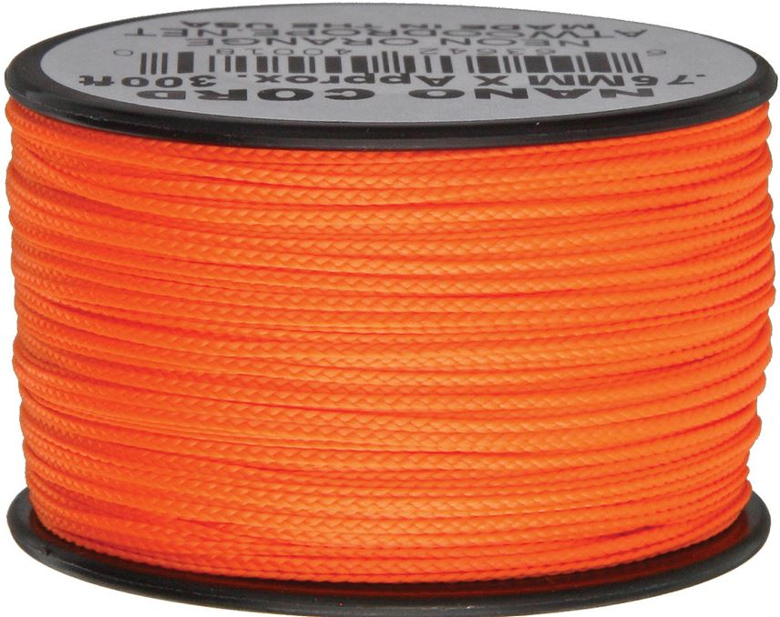 Nano Cord, 300 Ft. Spool - Neon Orange